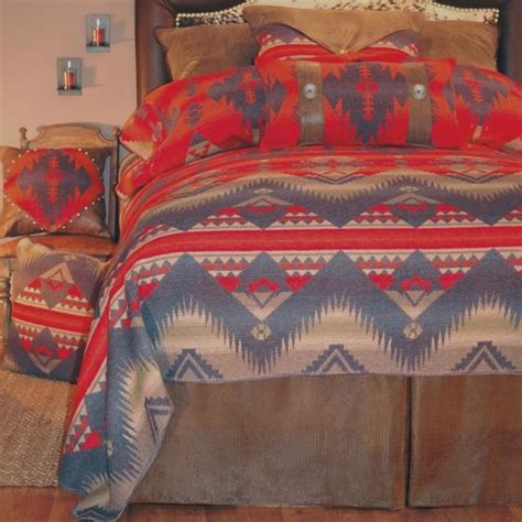 native american comforter southwest style bedding with native american design