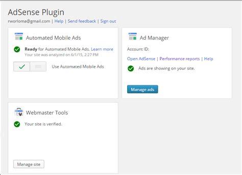 adsense not showing on wordpress google adsense plugin for wordpress is a great tool for