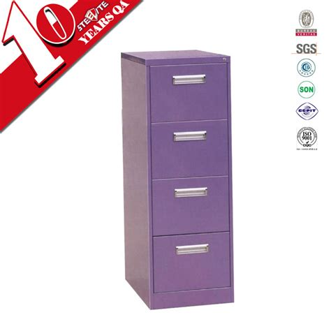 Purple Filing Cabinet Durable 4 Drawer Purple File Cabinet Office File Cabinet