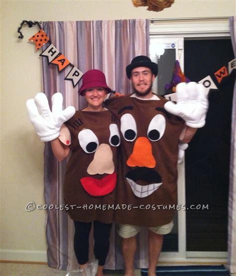 coolest diy costume idea story coolest mr and mrs potato couples costume
