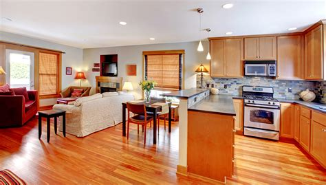open kitchen living dining room floor plans the rising trend open floor plans for spacious living