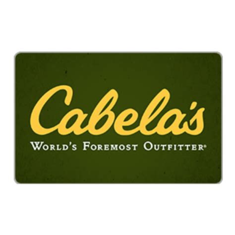 Cabela S Gift Card Balance - 100 cabela s gift card for only 82 with free mail delivery
