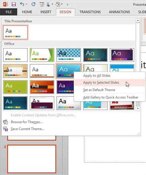 add themes to excel 2013 applying themes in powerpoint word and excel 2013