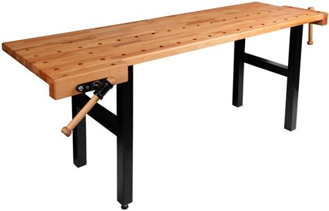 hobby work bench wooden workbench hobby with two vices pinie