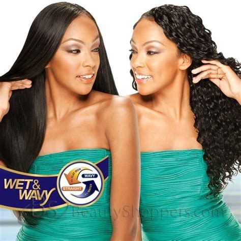remy wet and wavey sew in hair moisture remy rain indian hair weave long loose deep 4