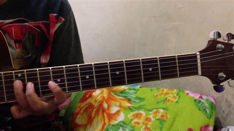 tutorial gitar lagu bukti cara mudah intro gitar lagu bukti virgoun youtube
