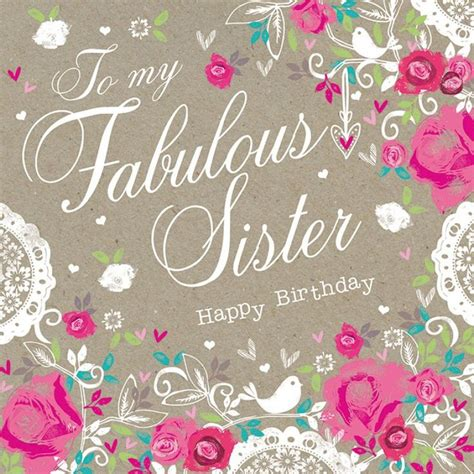 printable birthday cards for a sister best 25 happy birthday sister ideas on pinterest sister