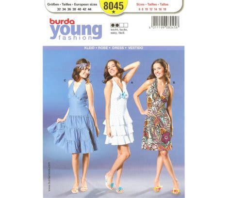 pattern review burda 7700 burda 8045 misses dress