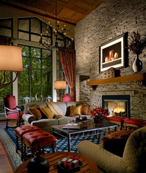 lodge living room luxury photos and articles stylelist