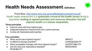 Health Needs Assessment Essay by Community Needs Assessment Template 6 Capital Needs Capital Needs Assessment Exle Table 5 2