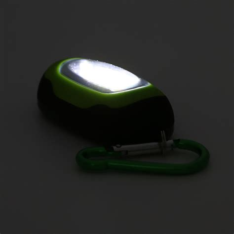 Senter Led Mini senter led mini 25 lumens dengan karabiner blue