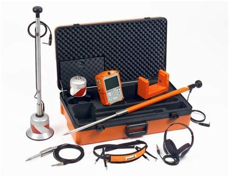 Plumbing Leak Detection Equipment by Finding Water Leaks Using Acoustic Ground Microphone A100