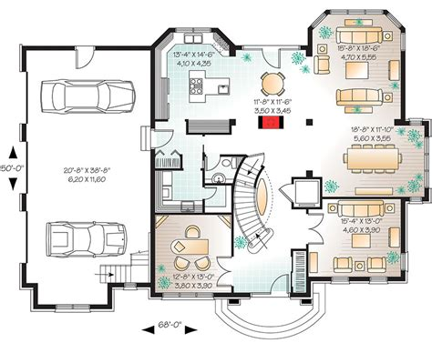 house plans with elevators manor house plan with elevator 21886dr architectural designs house plans