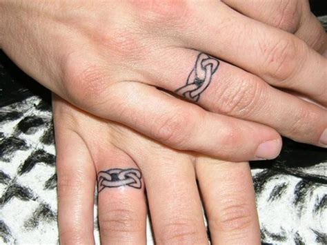 wedding finger tattoos cool and beautiful finger tattoos for