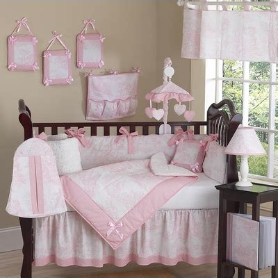 pink toile bedding pink toile crib bedding collection