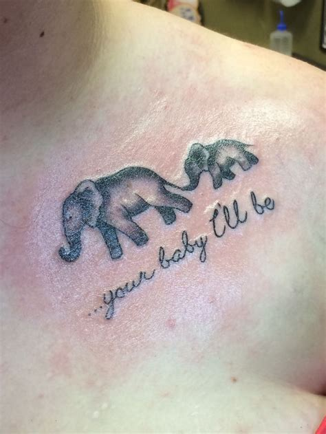 mother daughter elephant tattoos 40 best images on elephants