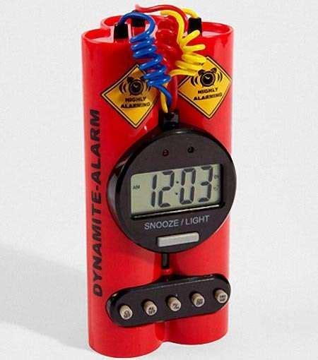 explosive alert timers dynamite alarm clock