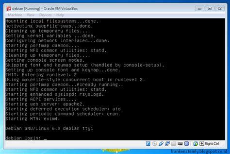 tutorial linux debian lengkap cara menghubungkan debian server ke windows client