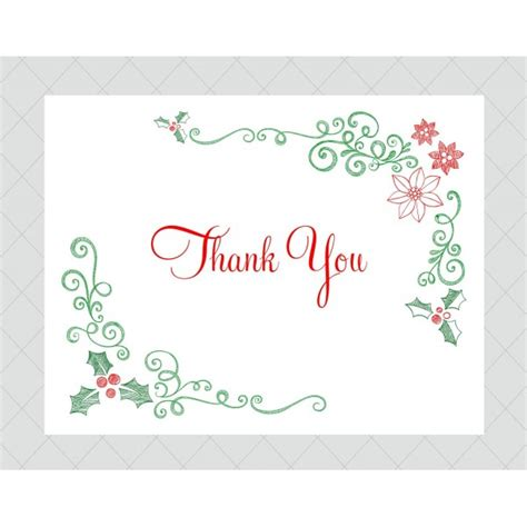 christmas thank you cards to print new calendar template