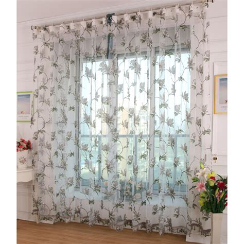 Sheer Patterned Curtains Sheer Gray Patterned Curtains Image Fatare