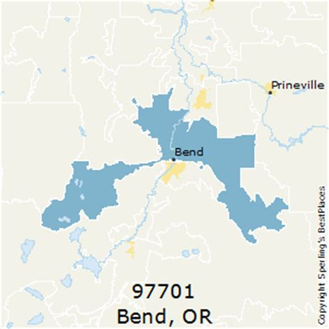 map of bend oregon zip codes best places to live in bend zip 97701 oregon