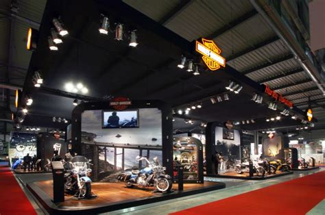 Harley Davidson Nyc Store by Modular Harley Davidson Space Concept By Axis Design Maior