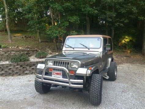 4bt Cummins Jeep Sell Used Jeep Wrangler Cummins 4bt In Chester Illinois