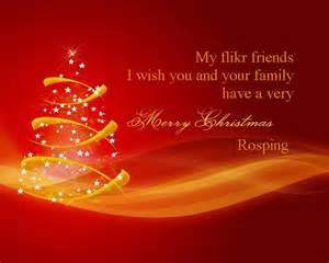 merry my flickr friends i wish you and your family a merry and