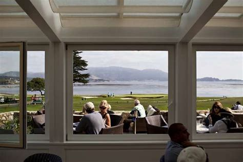 pebble beach the bench view food great at bench at pebble beach sfgate