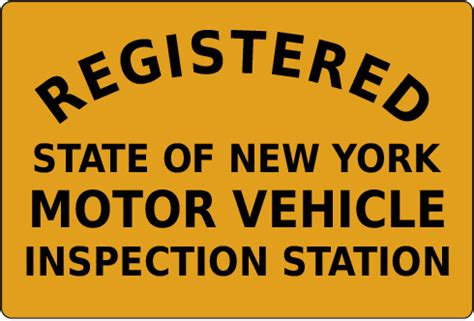 nys inspection check engine light waiver order york state inspection stickers satu sticker