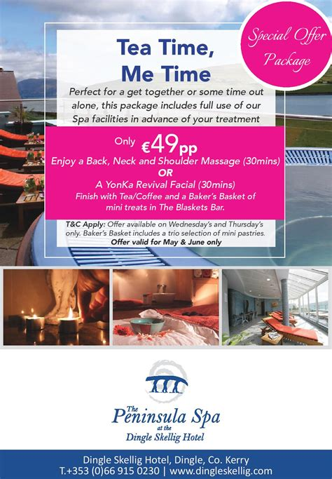 Time For Wonderfully Packaged Tea by Official Site Luxury Hotel With Stunning View Dingle