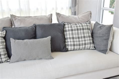 black and white sofa pillows 35 sofa throw pillow exles sofa d 233 cor guide
