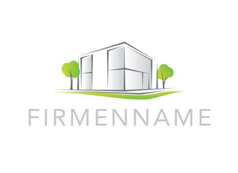 haus logo logo haus bauwerk loft architekten immobilie makler