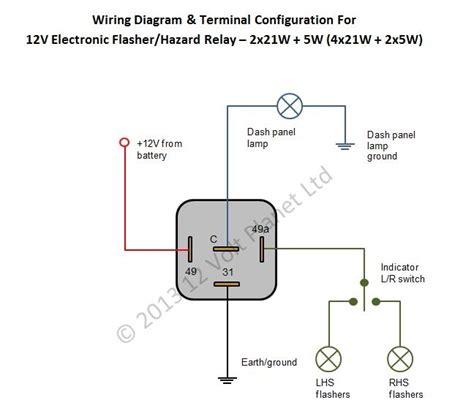 turn signal relay wiring diagram signal free printable