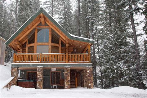Cabin In Snow Creek Cabins Fernie Bc