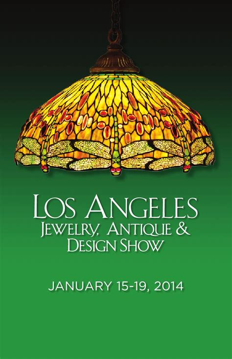 design show los angeles issuu los angeles jewelry antique design show by palm