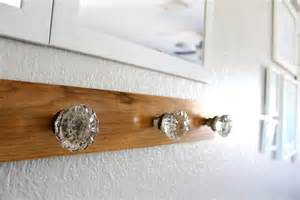 hometalk foyer glass door knob coat rack