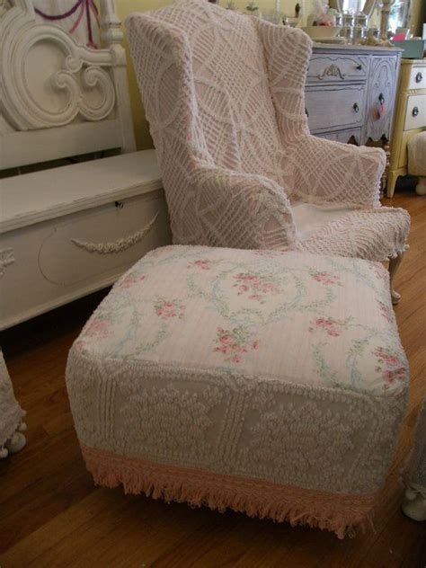 shabby chic slipcovers for wingback chairs custom chic slipcover ed shabby wingback chair vintage
