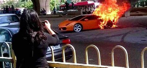 Lamborghini Gallardo Catches Fire In Delhi, Watch Rs 2.7