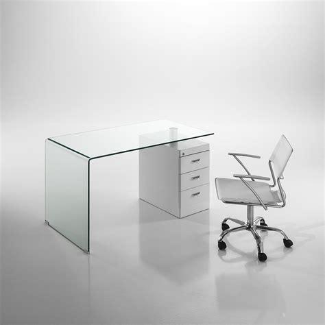 scrivania vetro tomasucci scrivania in vetro bow scrivania in vetro
