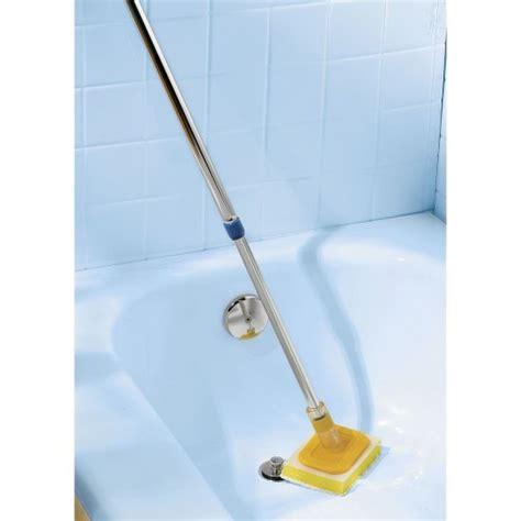 Bathtub Scrubber by Handled Tub Scrubber