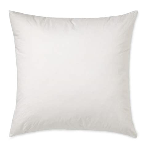 Throw Pillow Insert by Decorative Pillow Inserts Williams Sonoma
