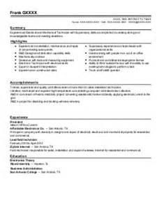 Elevator Mechanic Sle Resume by Polisher Resume Exle Mccrary Inc Sidney Ohio