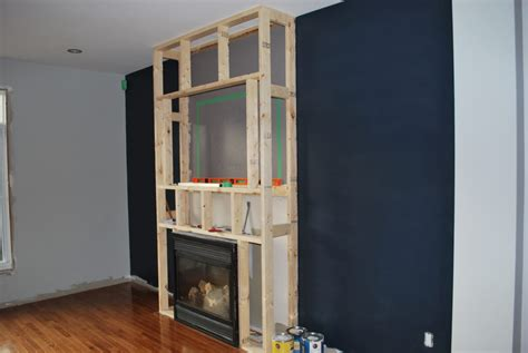 building a a floor to ceiling fireplace surround a how to