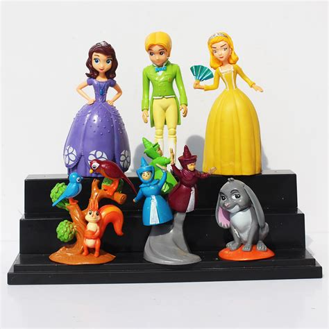 aliexpress toys princess sofia the first pvc action figures model toy