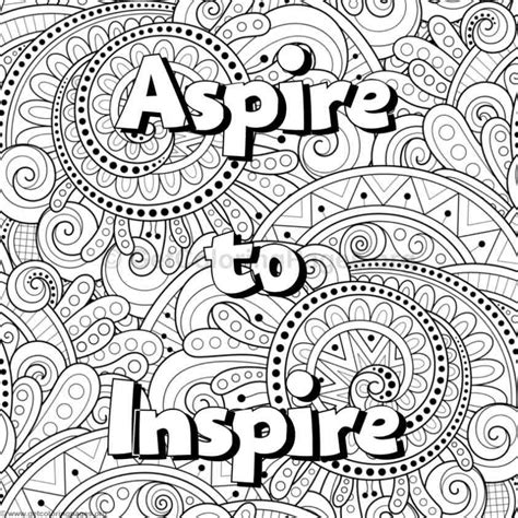 coloring pages of inspirational words inspirational word coloring pages