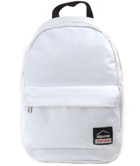 Alpine 3d Bag white book bag bags more