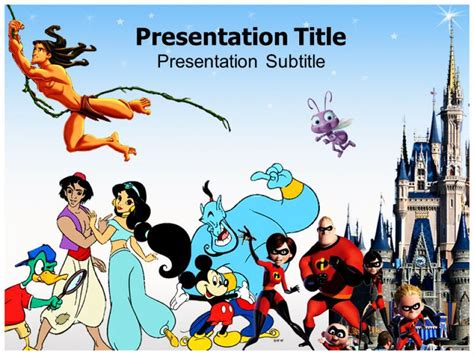 Disney Powerpoint Template The Highest Quality Powerpoint Templates And Keynote Templates Download Walt Disney Powerpoint Template