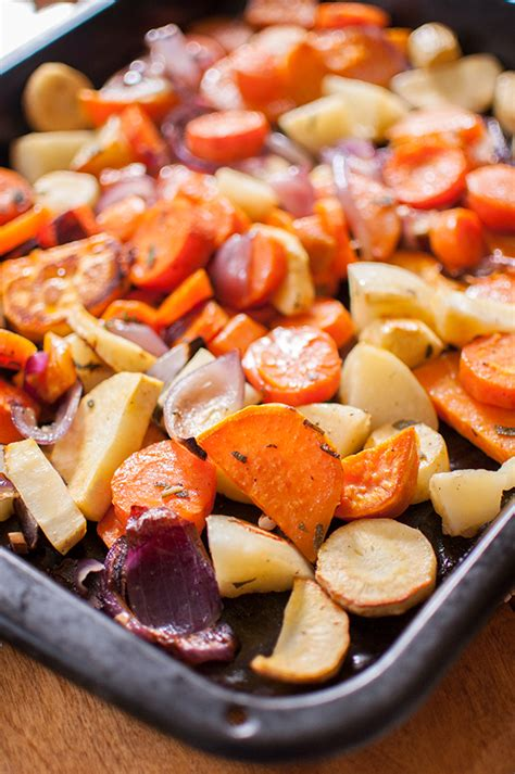 How To Cook Root Vegetables In Oven - roasted root vegetables living lou