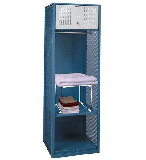 stackable locker shelf white in locker organizers